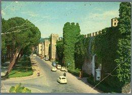 °°° Cartolina N. 60 Rieti Viale Dei Flavi Viaggiata °°° - Rieti