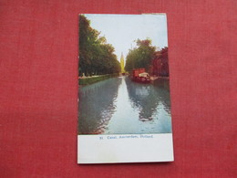 Canal  Amsterdam Ref 3337 - Amsterdam