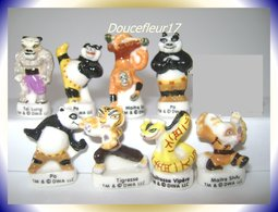 Kung Fu Panda ..8 Fèves.. Ref AFF :94-2009 ( Pan 0014) - Cartoons