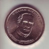 Stati Uniti 2013 - 1 Dollaro Mc Kinley - Zecca D - Emissioni Federali