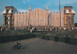 D-11011 Berlin - House Of Parliament - Reichstagsverhüllung - Christo Am 20.6.1995 - Charlottenburg