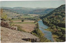 Prattsville, N.Y. - Shoharie Valley From Pratt Rock -  (New York) - 1975 - Catskills