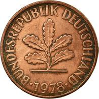 Monnaie, République Fédérale Allemande, 2 Pfennig, 1978, Hambourg, TTB - [ 7] 1949-… : FRG - Fed. Rep. Germany