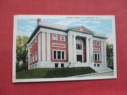 Masonic Temple St. Johnsbury  - Vermont >   Ref 3338 - United States