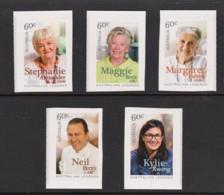 Australia 2014 Cooking Legends Set Of 5 Self-adhesives MNH - Ongebruikt