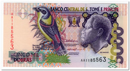 SAINT THOMAS & PRINCE,5000 DOBRAS,1996,P.65,UNC - Sao Tome And Principe