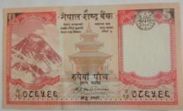 Billet Du Népal 5 Rupees Pick 30 Neuf/UNC - Nepal
