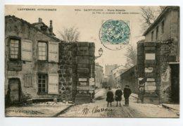 15 ST SAINT FLOUR Petits Ecoliers Porte Ribeiile Neige Publicités Murs 1904 Timb L'Auvergne Pittoresque 8534  D05 2019 - Saint Flour