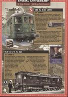 Catalogue FULGUREX 50 YEARS 1997 150 YEARS SWISS RAILWAYS Brochure - En Français Et Allemand - Livres Et Magazines