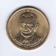 Stati Uniti 2015 - 1 Dollaro L: Johnson - Zecca D - 2007-…: Presidents