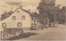 Un Bonjour De Burnenville - Café Léon Nailis - Animé - Oldtimer - Photo Atelier Querinjean, Malmédy - Cafés