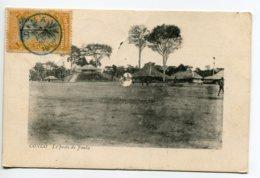 CONGO  Belge  Le Poste De JAULA  écrite 1909 Timbrée Matadi       D06 2019 - Congo - Kinshasa (ex Zaire)