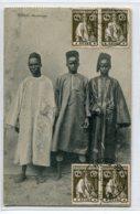 GUINEE BISSAU  Portugal   Mandigas Trio Hommes Indi_gènes En Costumes Du Pays 1915 écrite    D06 2019 - Guinea-Bissau