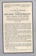 DOODSPRENTJE GHEERBRANT BUYSENS ° SAINT NICOLAS ARRAS 1876 + AUTRYVE 1942 - Images Religieuses