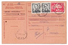 Wissel - Reçu - Peruwelz - Herseaux 1957 - Lettres De Change