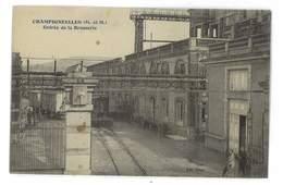 CPA 54 CHAMPIGNEULLES ENTREE DE LA BRASSERIE - Andere Gemeenten