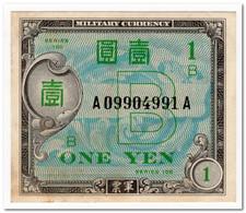 JAPAN,1 YEN,1945,P.67a,AU - Japan