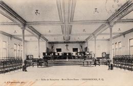 Sherbrooke Québec - Mont Notre-Dame - Salle De Réception School - A.Z. Pinsonneault - Written 1904 - 2 Scans - Sherbrooke
