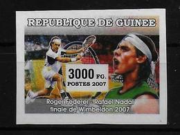 GUINEE  N° 2855 * * NON DENTELE  Tennis Nadal - Tennis