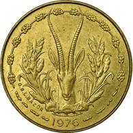 Monnaie, West African States, 5 Francs, 1976, Paris, TTB+ - Ivory Coast