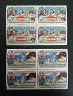 Aitutaki 1994; Space, Aircraft, Astronauts, Moon Landing; MNH/** VF; CV 80 Euro!! - Aitutaki