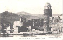 FR66 COLLIOURE - Toreilles - Le Château Et L'église - Belle - Collioure