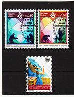 SRO466 UNO GENF 1994 MICHL 243/44 + 249 Gestempelt Siehe ABBILDUNG - Genf - Büro Der Vereinten Nationen