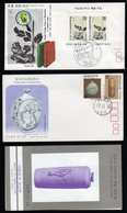 South Korea 1977 Ceramics Fdc With Folder And  S/Sheet FDC From 1976 Philatelic Week. - Corea Del Sur
