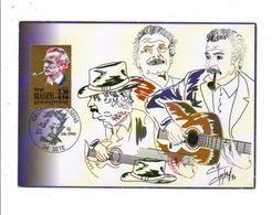 CARTE MAXIMUM 1990 GEORGES BRASSENS - Maximumkarten