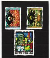 SRO469 UNO GENF 1995 MICHL 262 + 267/68 Gestempelt Siehe ABBILDUNG - Genf - Büro Der Vereinten Nationen