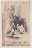 Alger La Kasbah Old Postcard Travelled 1903 To Cilli B190501 - Algeri