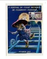 OBLITERATION 7 EME FESTIVAL DU COURT METRAGE CLERMONT FERRAND 1985 - Bolli Commemorativi