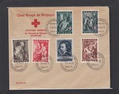 COB 647/652 SUR PLI OBLITÉRÉS PRÉVENTE 1-4-44. - Briefe U. Dokumente