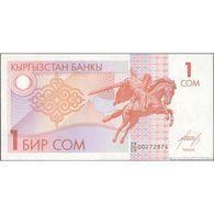 TWN - KYRGYZSTAN 4 - 1 Som 1993 Prefix 29/CH UNC - Kyrgyzstan