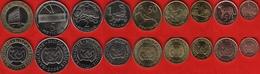 Mozambique Set Of 9 Coins: 1 Centavo - 10 Meticais 2006 UNC - Mozambique