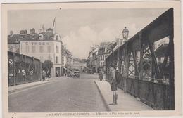95  Saint Ouen L'aumone L'entree  Vue Prise  Sur Le Pont - Saint-Ouen-l'Aumône
