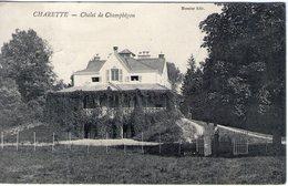71. Charette. Chalet De Champhégon. Pliure à Gauche - France