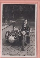 OLD PHOTO POSTCARD - MOTOR - MOTO  -  1930'S - - Motorbikes