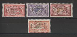 Grand Liban 1924 PA 5-8 , 4 Val * Charnière - Posta Aerea