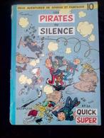 Franquin: Spirou Et Fantasion 10: Les Pirates Du Silence Dupuis, Dos Rond, 1964 - Spirou Et Fantasio