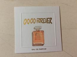 Carte Chanel Coco Forever Edp - Cartas Perfumadas