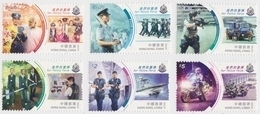 Hong Kong 2019 Our Police Force Stamp Set - Nuovi