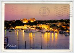 MAXICARD      RODI     RHODES     RHODOS    RODOS               (VIAGGIATA) - Grecia