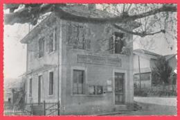 CPSM- 38- BELLEGARDE-POUSSIEU - Bureau De POSTE* *2 SCANS - Other Municipalities