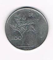 )  ITALIE  100  LIRE  1959 - 1946-… : République