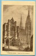 CPA  28 CHARTRES ANCIEN  La Cathédrale - Chartres