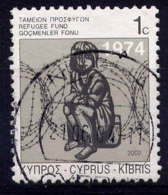 CHYPRE - 990A° - FONDS POUR LES REFUGIES - Chypre (République)