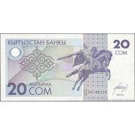 TWN - KYRGYZSTAN 6 - 20 Som 1993 Prefix 23/CH UNC - Kyrgyzstan