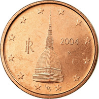 Italie, 2 Euro Cent, 2004, SUP, Copper Plated Steel, KM:211 - Italie