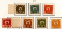 PIA - FINLANDIA  - CARELIA - 1922 : Governo Provvisorio - Stemma  - (Yv  1-15) - Finland